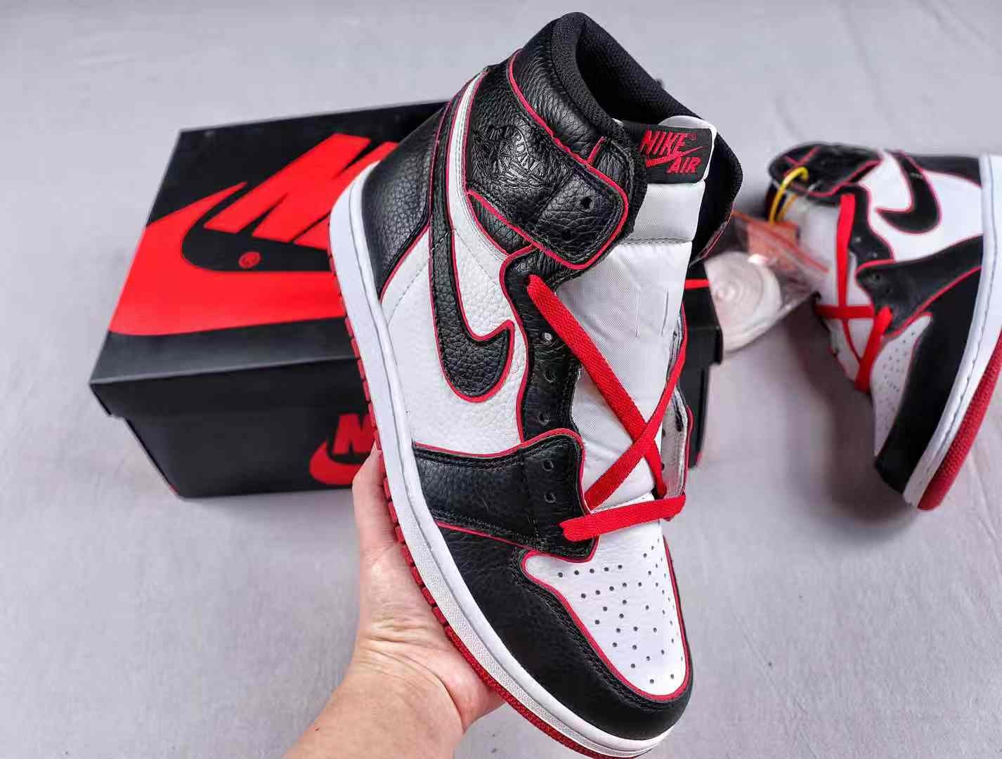Air Jordan 1 Who Said Man Was Not Meant To Fly 555088-062 To Buy