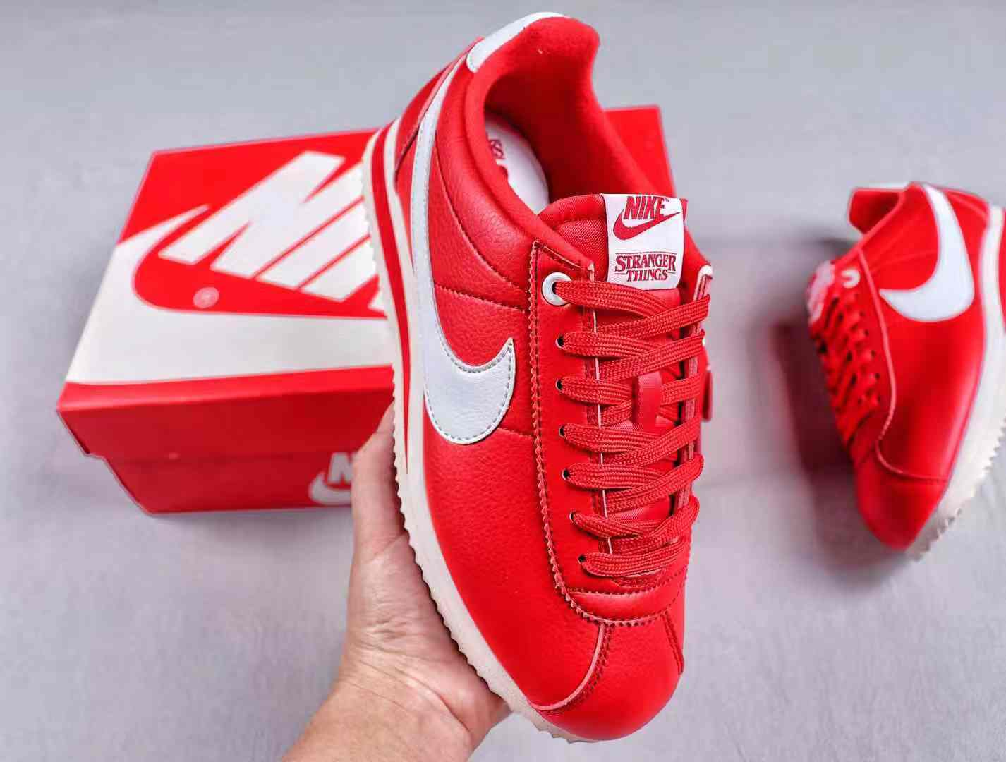 Nike x Stranger Things Classic Cortez University Red White
