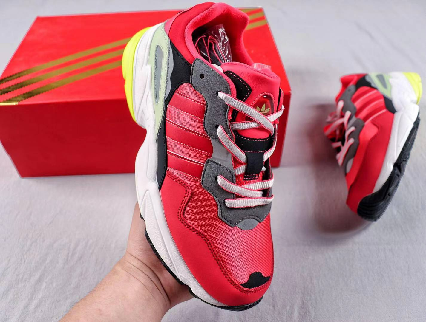 Adidas Yung 96 CNY Pack Red G27575 Classic Shoes Cheap Sale
