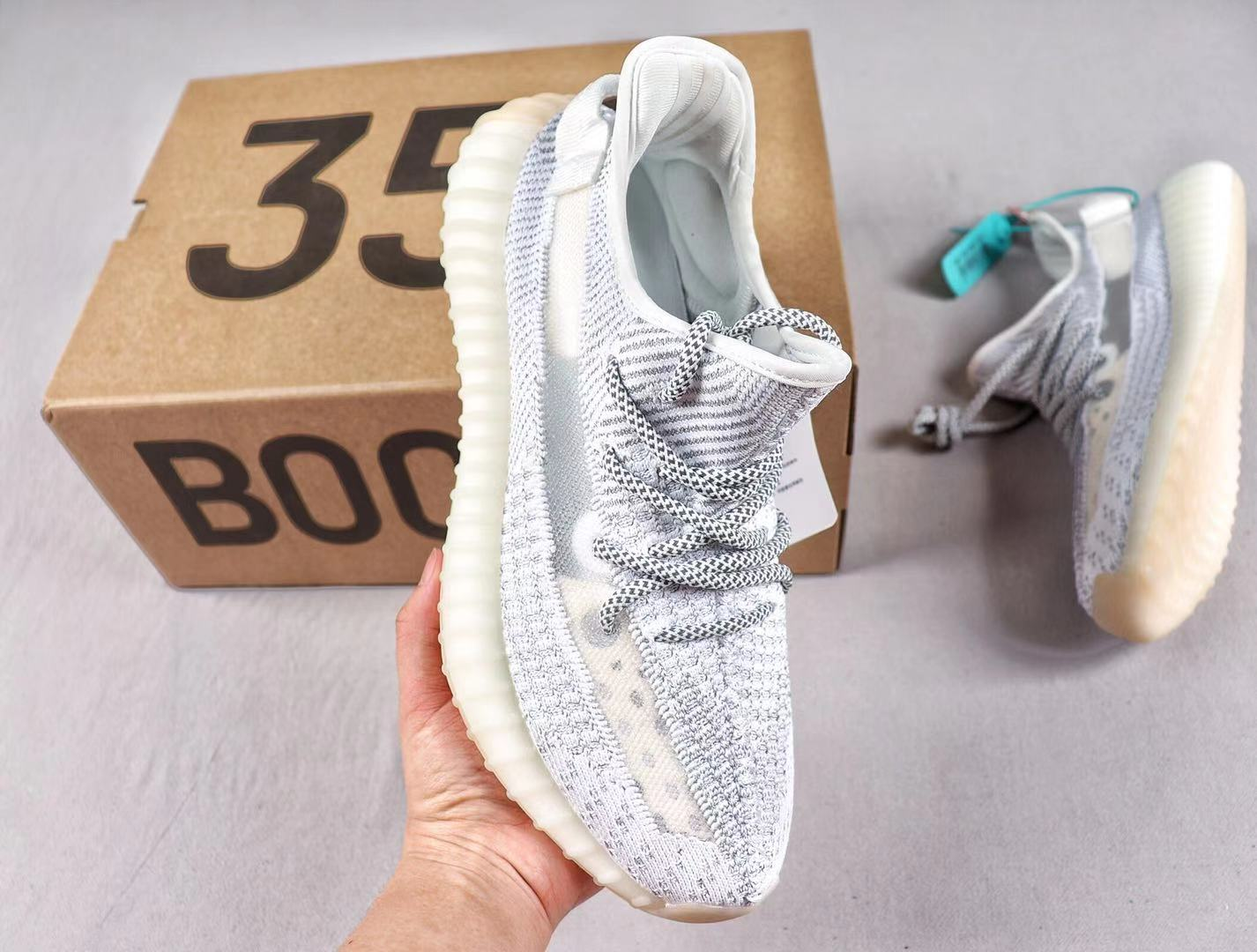 """Best Sell Adidas Yeezy Boost 350 V2 """"Reflective"""" EF2367 Static/Static-Static"""