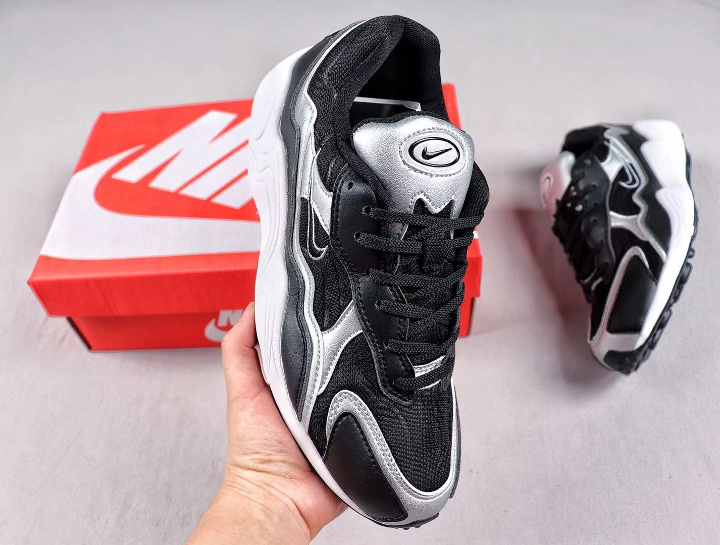 Buy Nike Zoom Alpha Black/Metallic Silver Newest Sneakers BQ8800-004