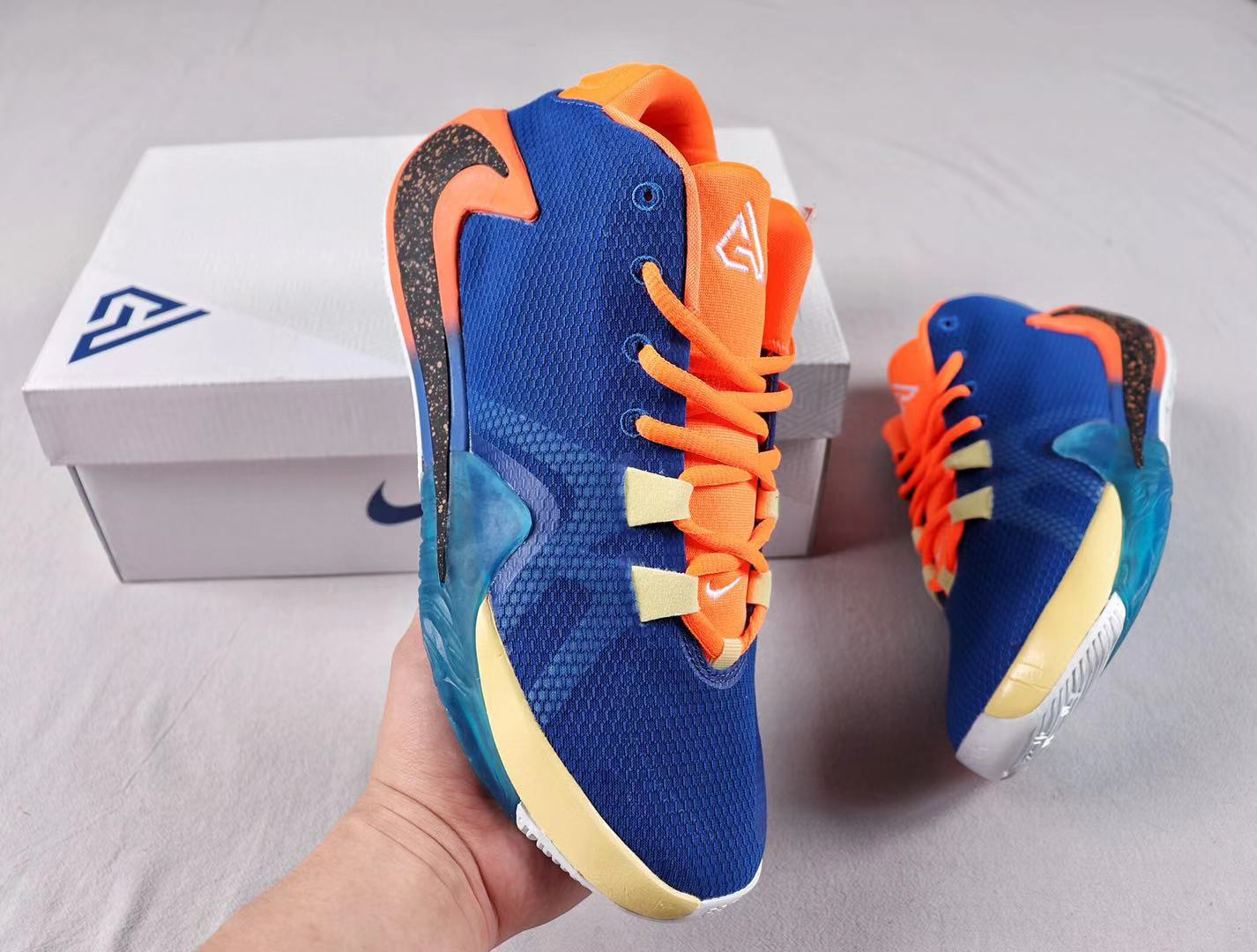 "Buy Nike Zoom Freak 1 ""All Bros"" BQ5422-800 Total Orange/Midnight Navy-White"