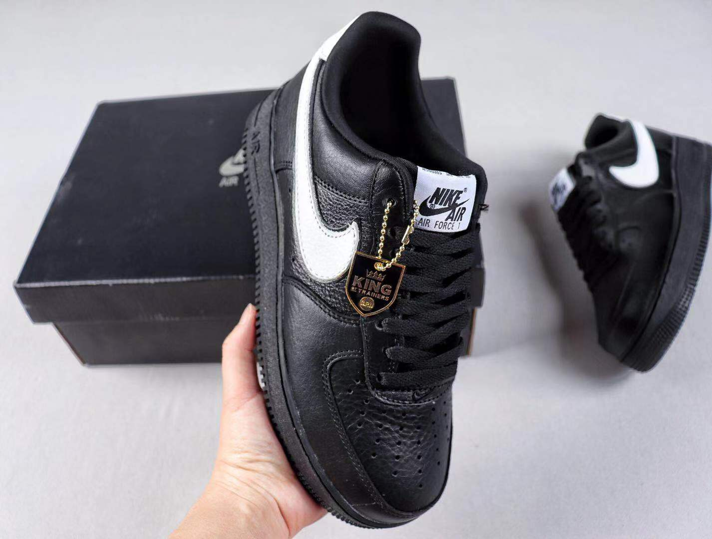 Nike Air Force 1 Low QS Black/White Best Sell Shoes CQ0492-001