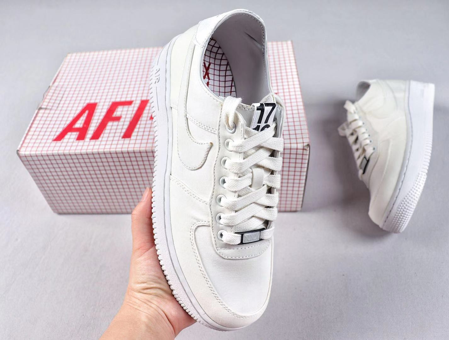 Nike Air Force 1 x Dover Street Market All White Best Sell Sneakers 543512-110