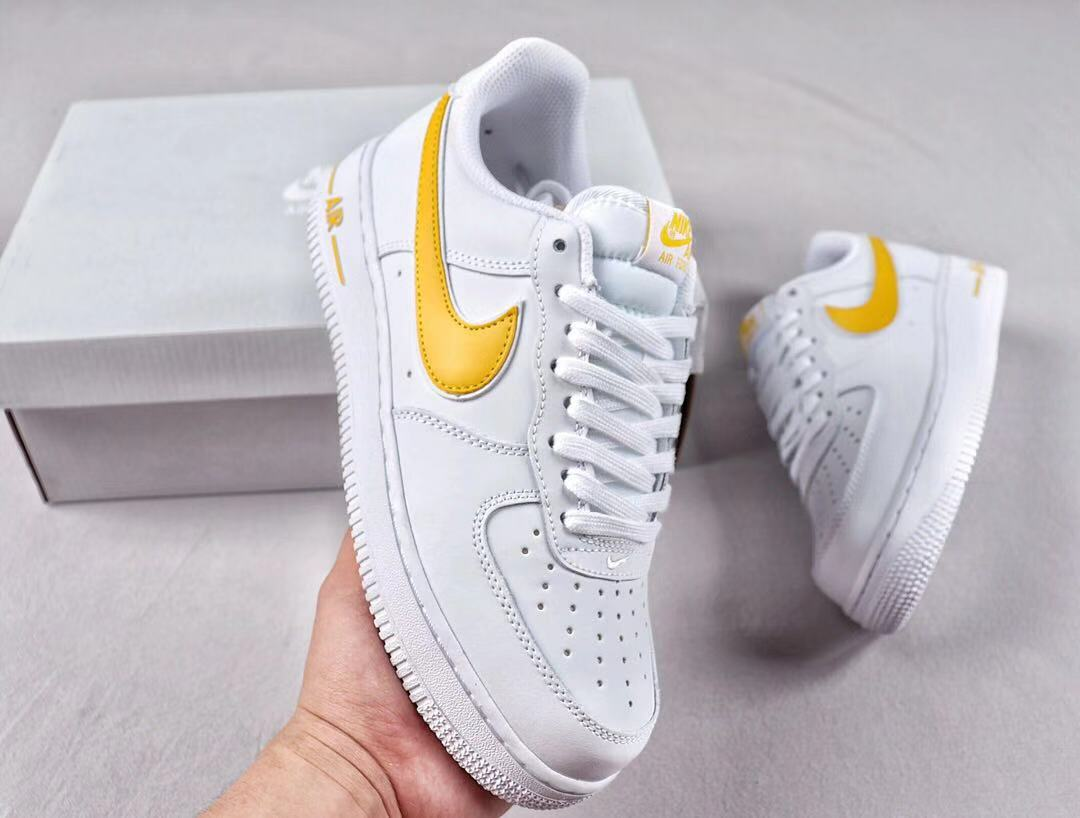 "Nike Air Force 1'07 Low ""University Gold"" AO2423-105 Mens And Womens Size"