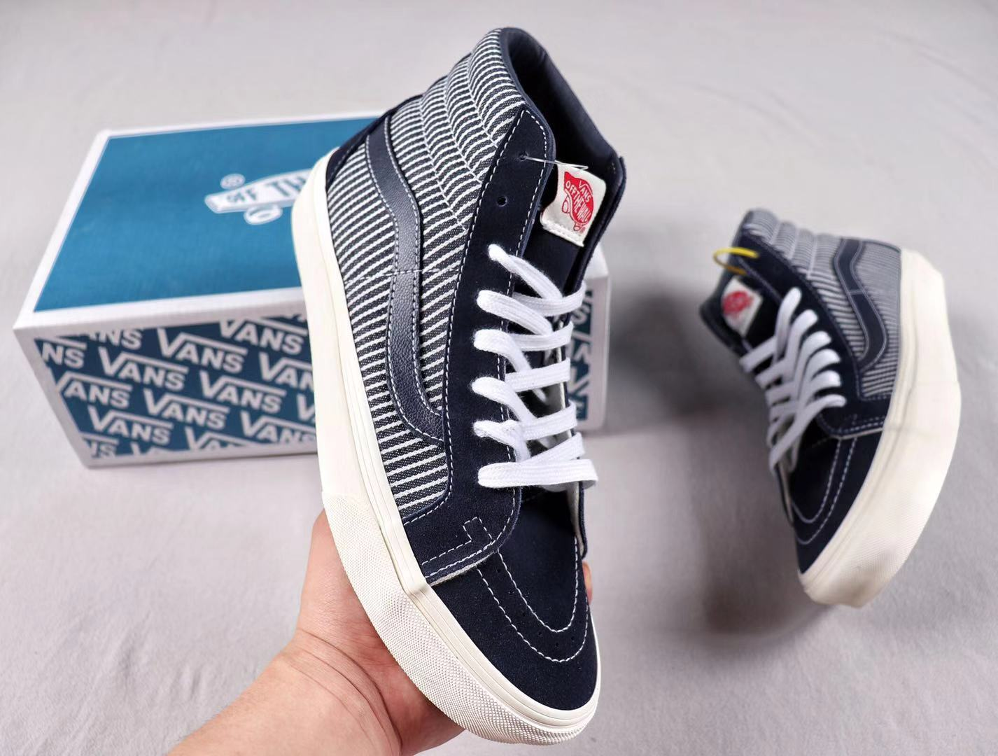 """Vans Vault """"Mt.Vernon"""" Pack Light Blue/White Lifestyle Shoes To Buy"""