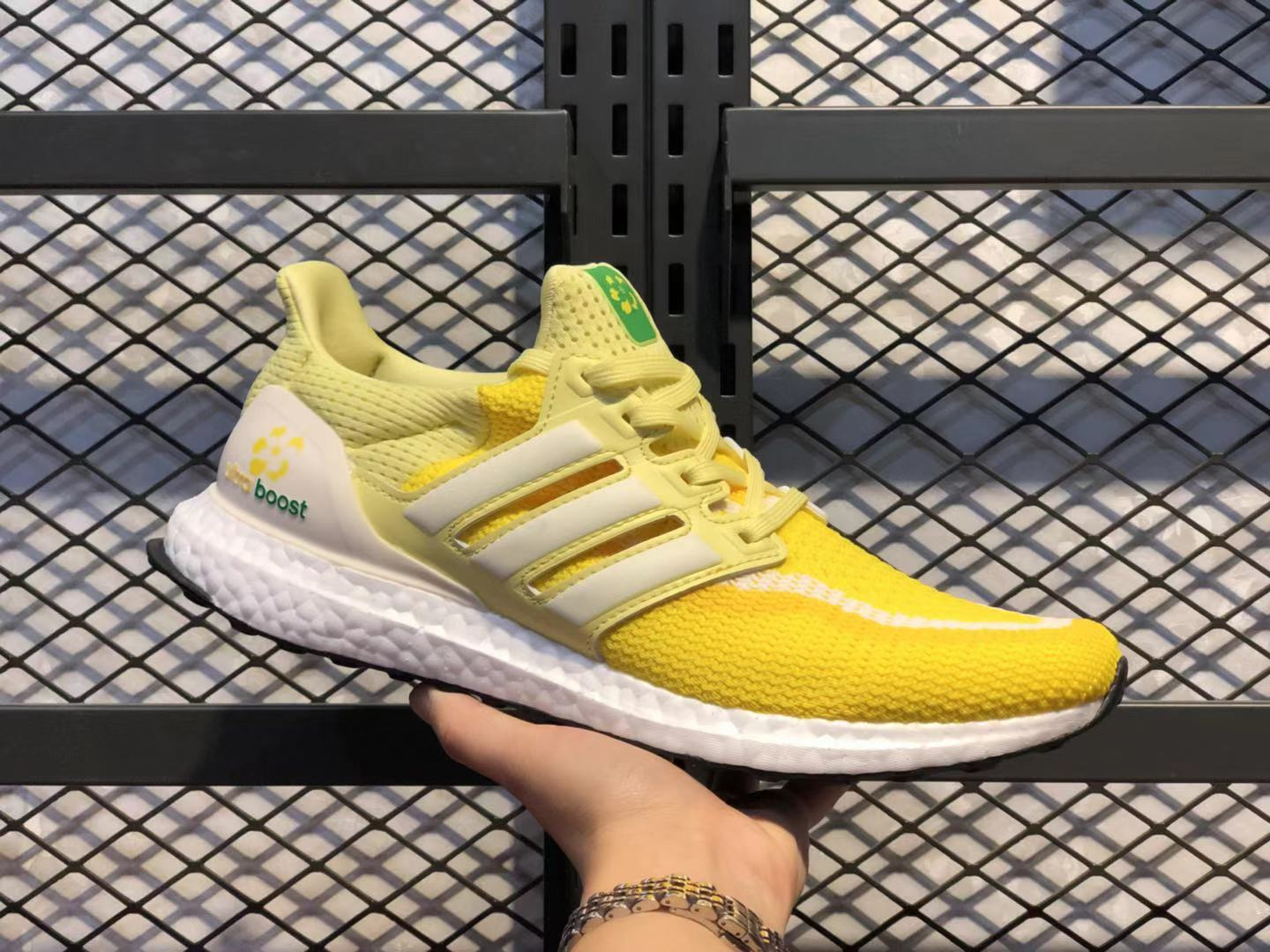 Adidas Ultra Boost Ginger Yellow/White Sneakers Online Buy FW5232