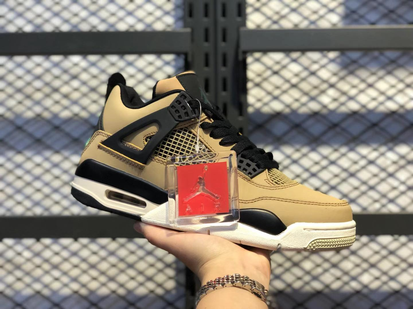 "Air Jordan 4 ""Mushroom"" Mushroom/Black-Fossil-Pale Ivory To Buy"