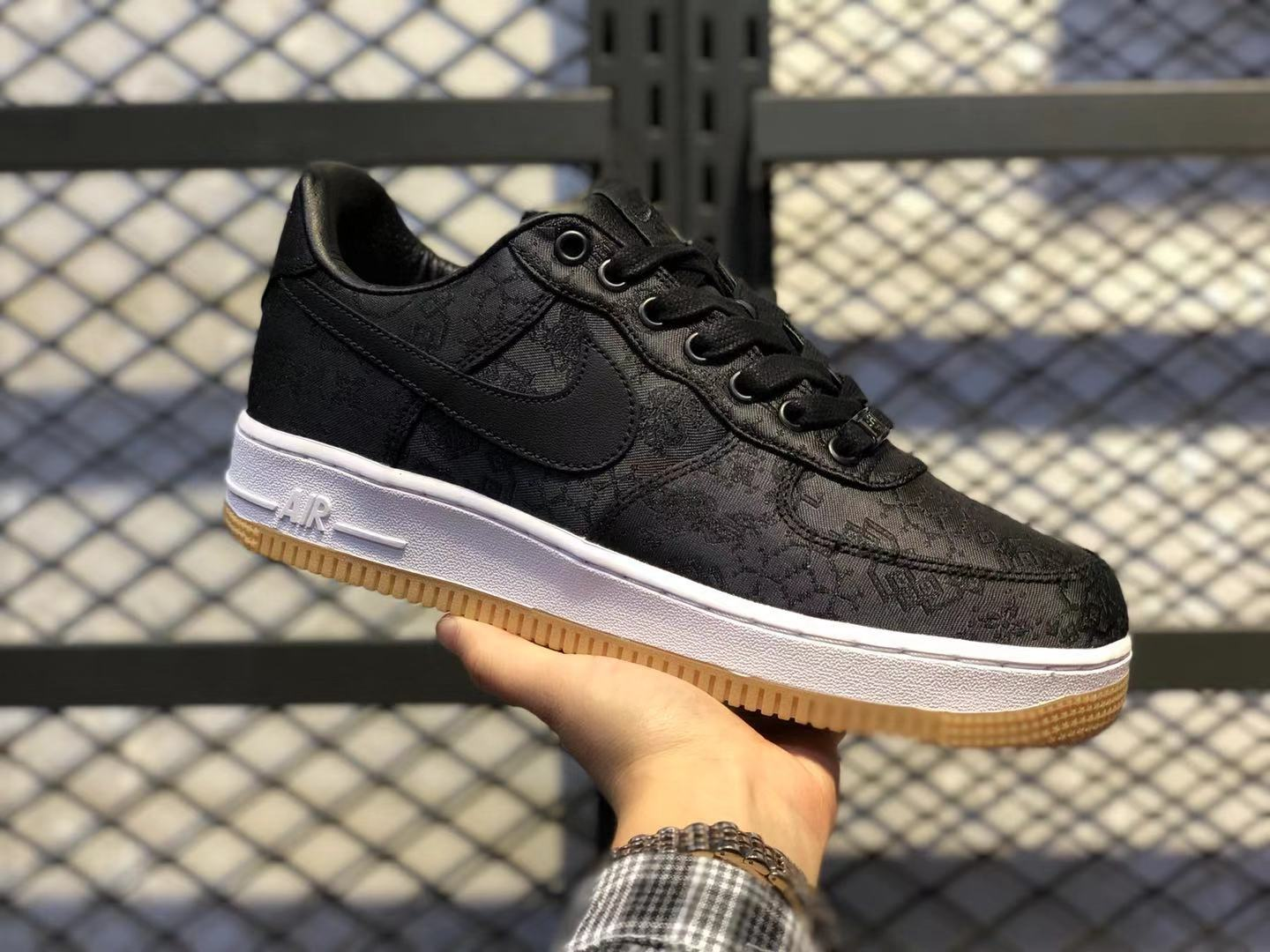 Fragment x CLOT x Nike Air Force 1 Black/University Red/White To Buy