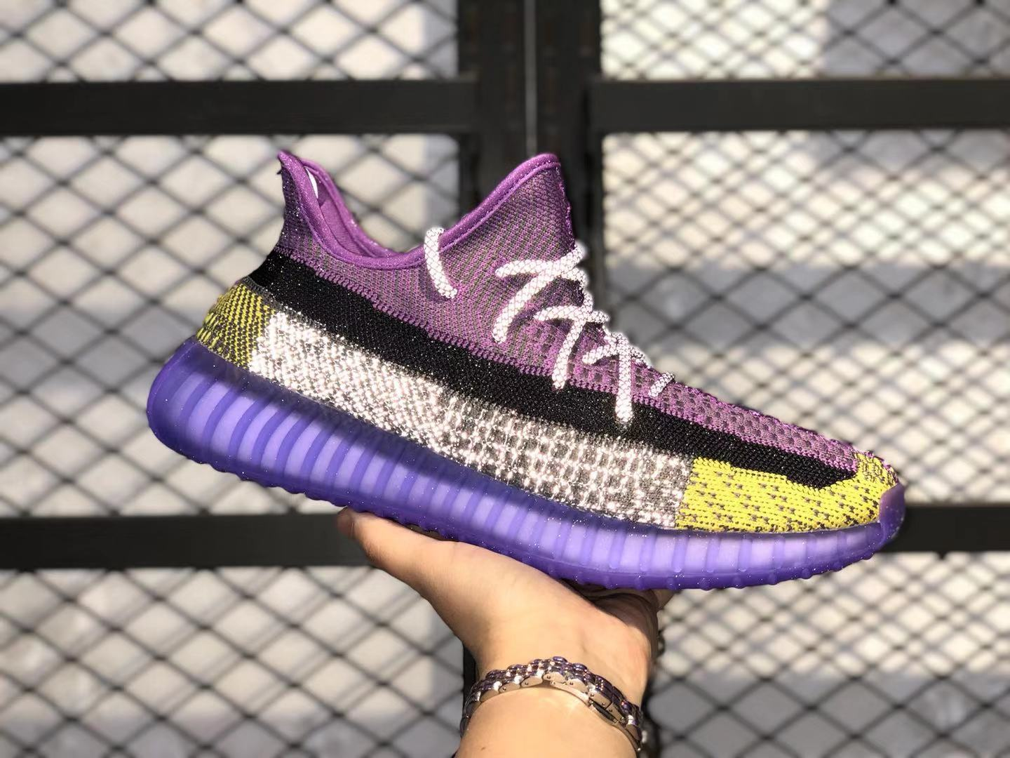 Hot Sale Adidas Yeezy Boost 350 V2 EG5298 Multi-Color Women's Running Shoes