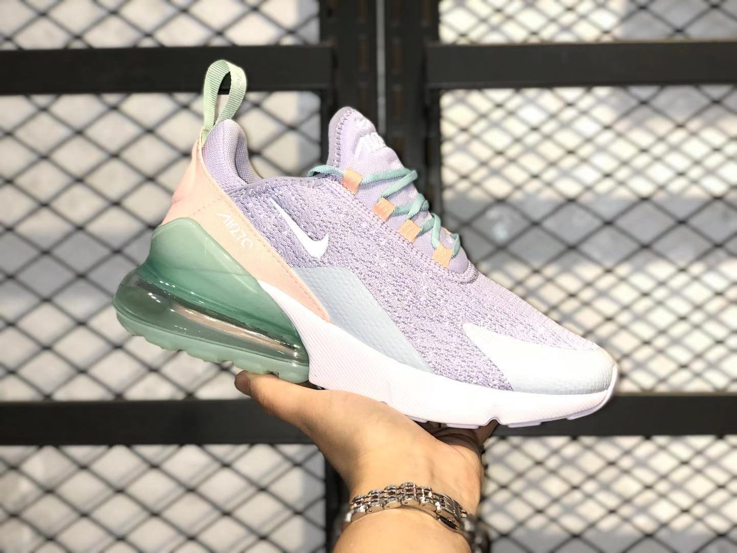 Hot Sale Nike Wmns Air Max 270 Oxygen Purple Tint Running Shoes CI1963-514