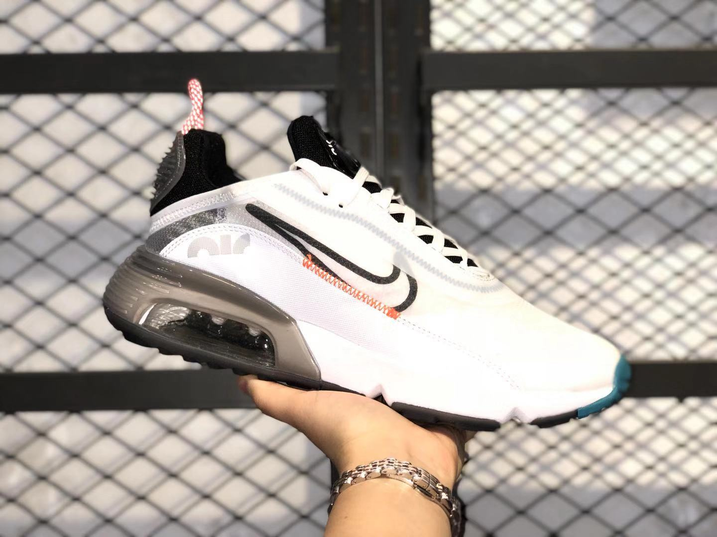 Nike Air Max Vapormax 2090 CT7695-100 White/Black-Red Running Shoes Online Buy