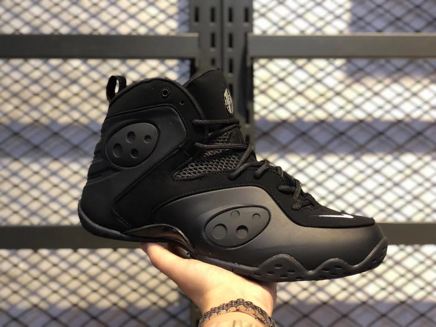 Nike Zoom Rookie Black/White-University Red Basketball Shoes Online Sale