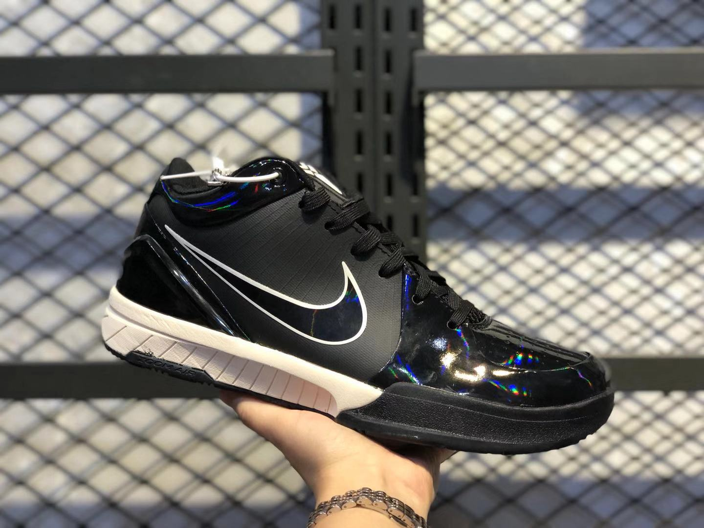 Undefeated x Nike Zoom Kobe 4 Protro Black/Multi-Color For Online Sale