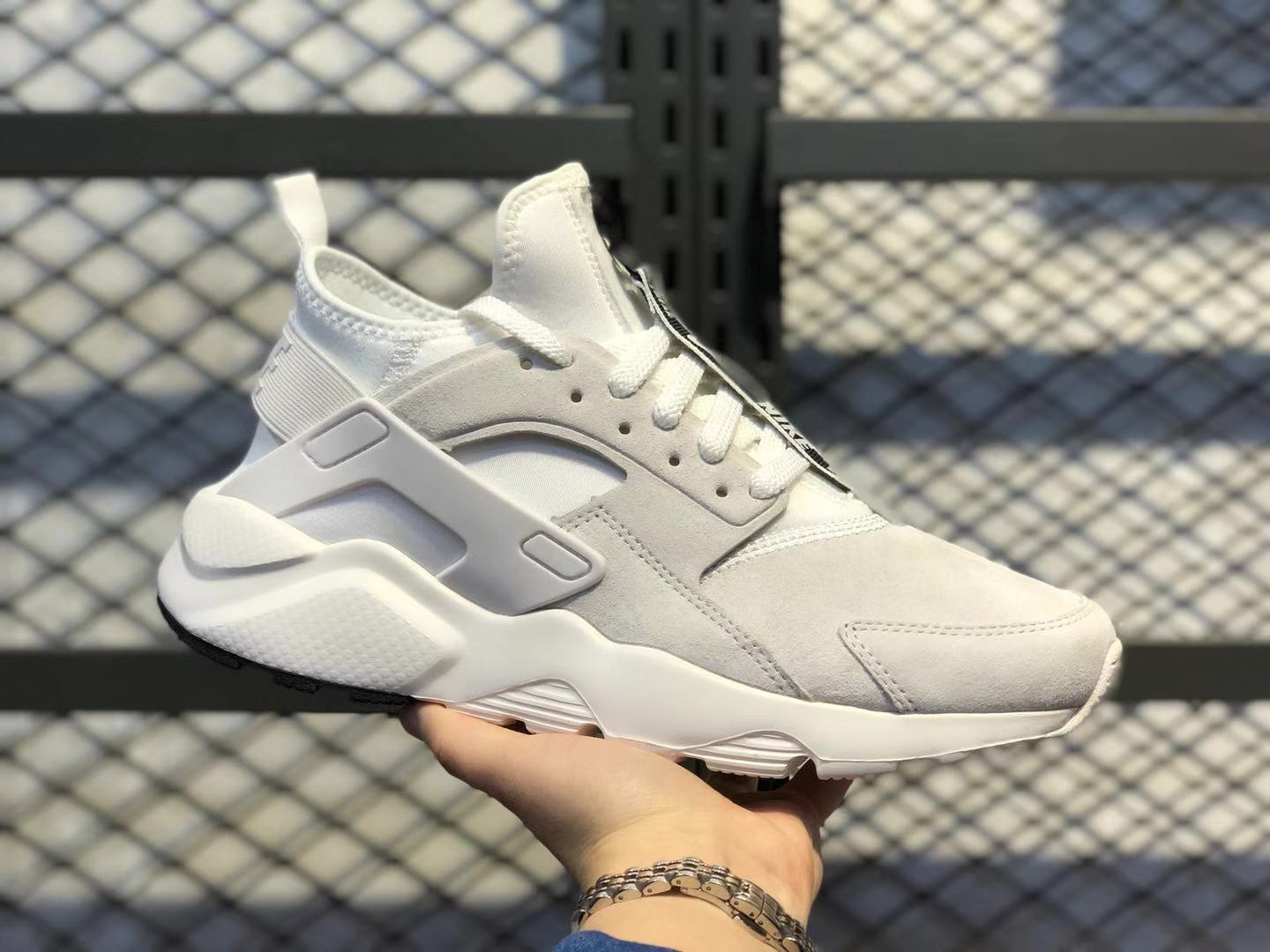 2020 Best Sell Nike Air Huarache Ultra Suede Sail/Cloud White 829669-552