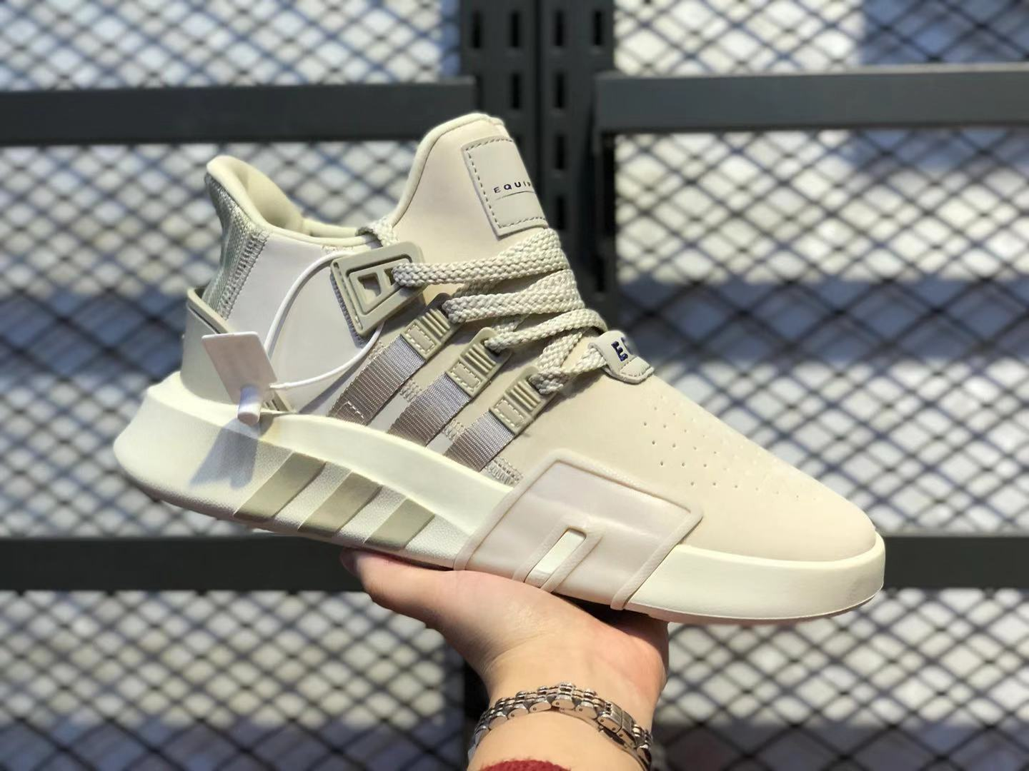 Adidas EQT Basketball ADV Cream White/White Shoes BD7812 For Online Sale