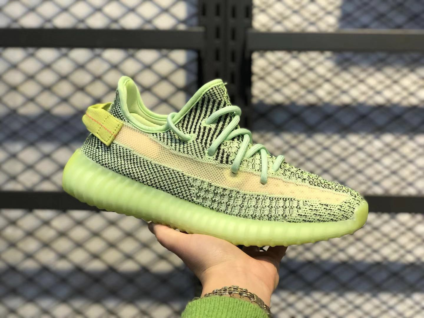 """Best Sell Adidas Yeezy Boost 350 V2 """"Yeezreel"""" Newest Jogging Shoes FX4130"""