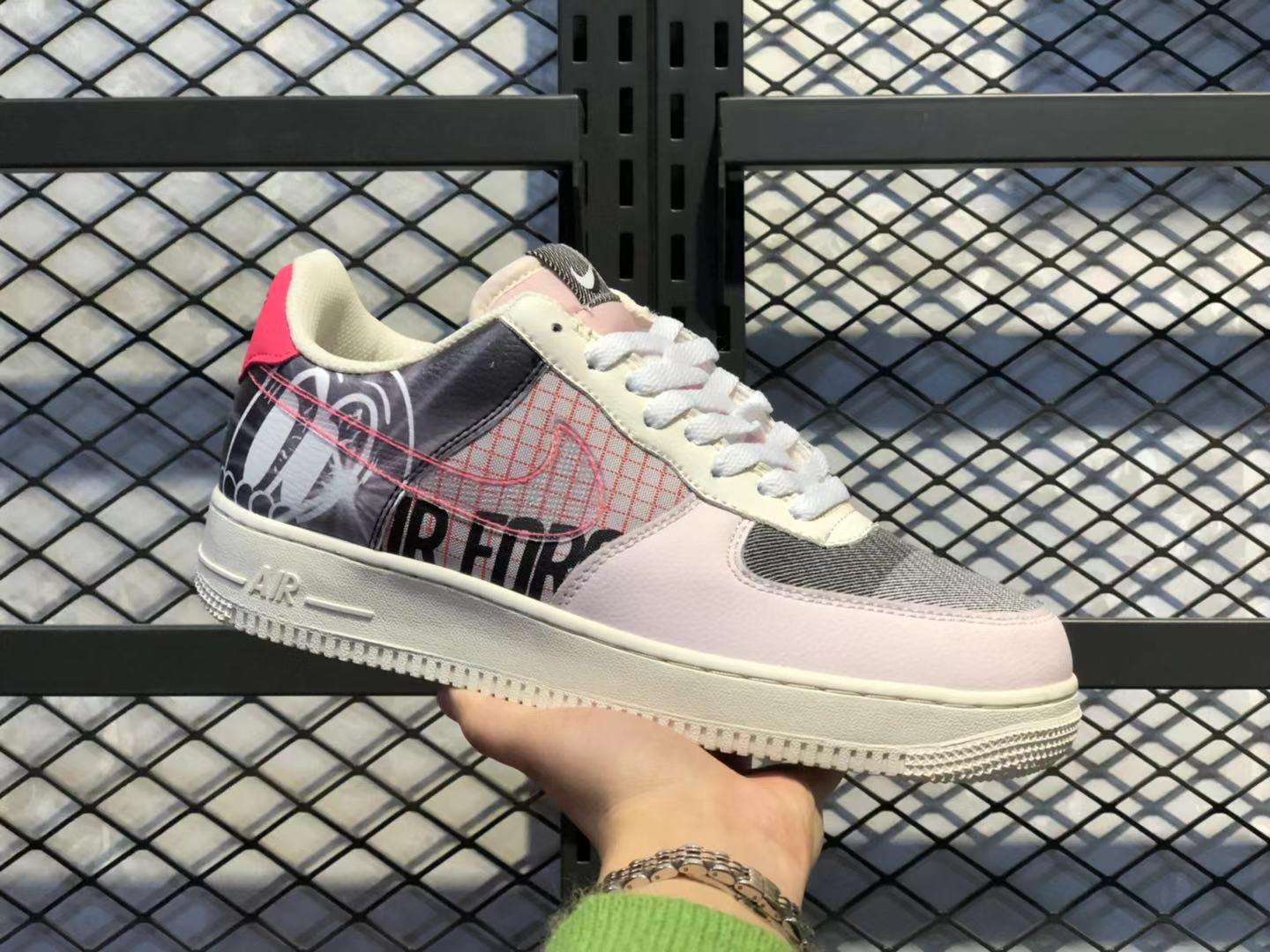 Best Sell Nike Air Force 1'07 Light Soft Pink/Sail CI0066-600 Casual Sneakers