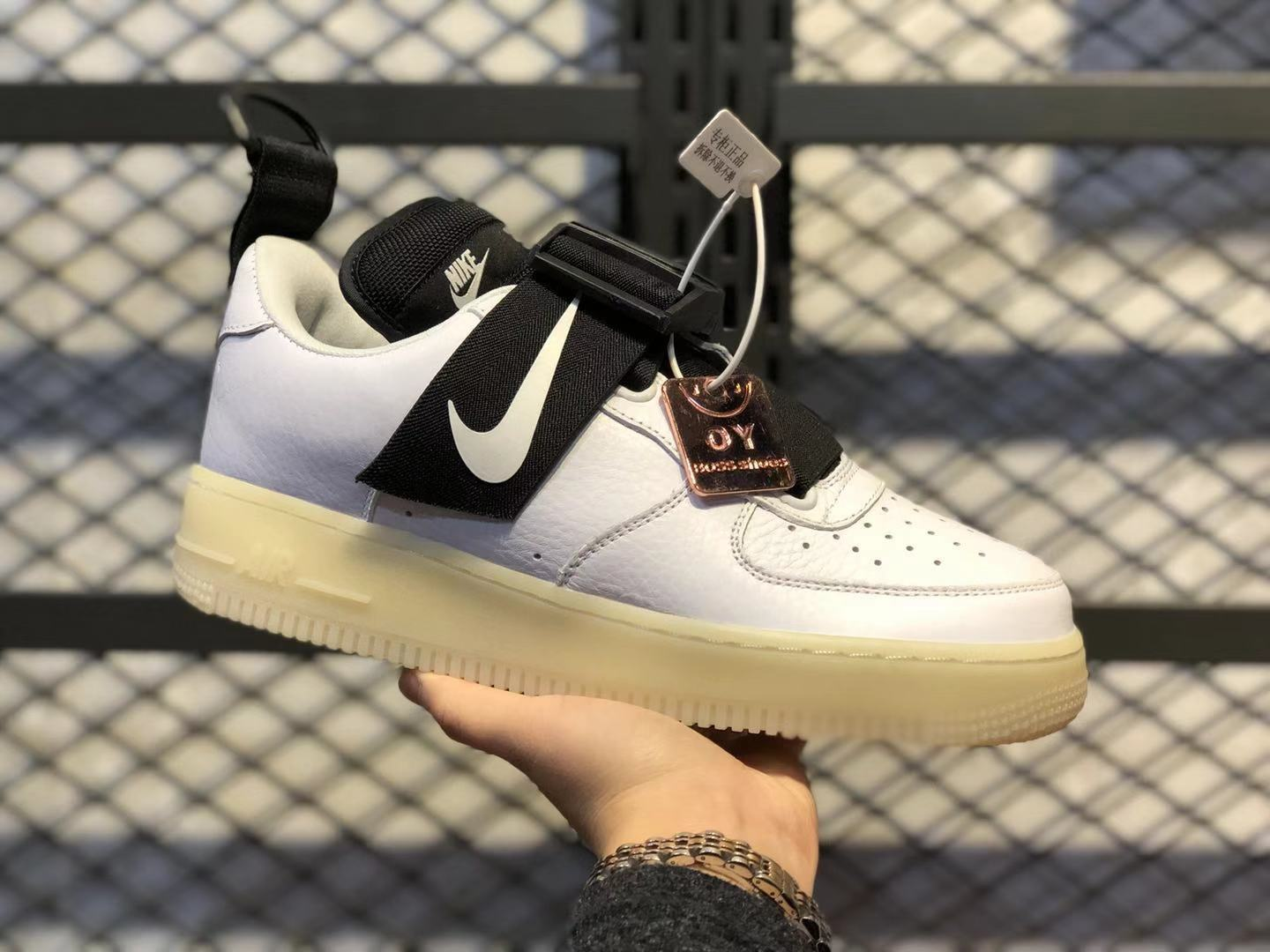 Nike Air Force 1 Low Utility White Black AV6247-100 For Online Sale