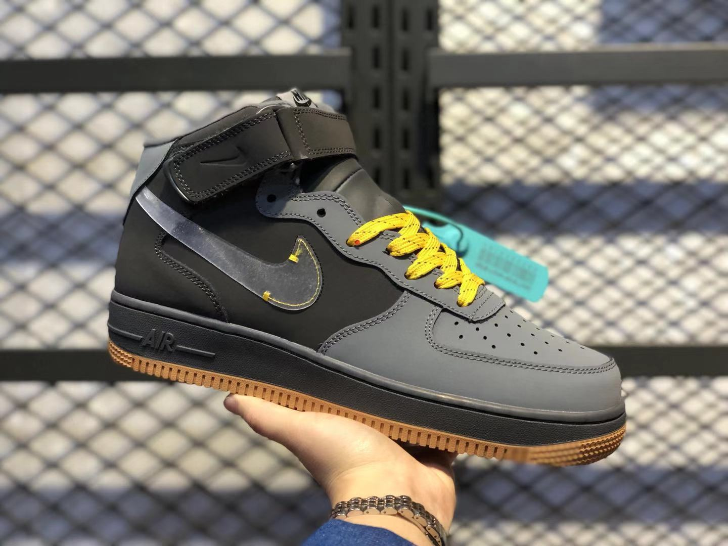 Nike Air Force 1 Mid Cool Grey-Pure Platinum-Dark Grey CQ6367-101 Online Buy