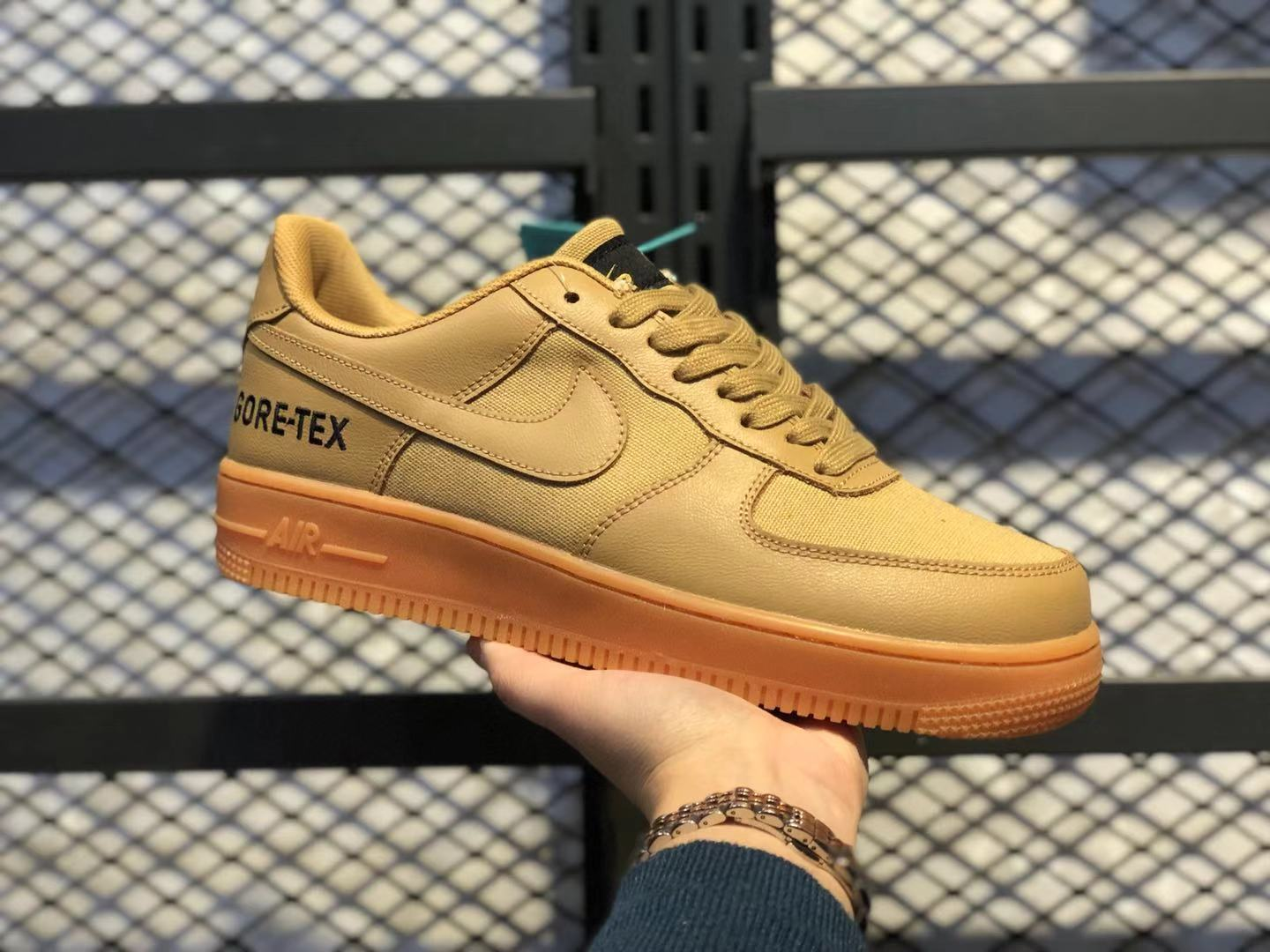 Nike Air Force 1'07 Low Flax-Flax-Outdoor Green Casual Shoes For Online Sale