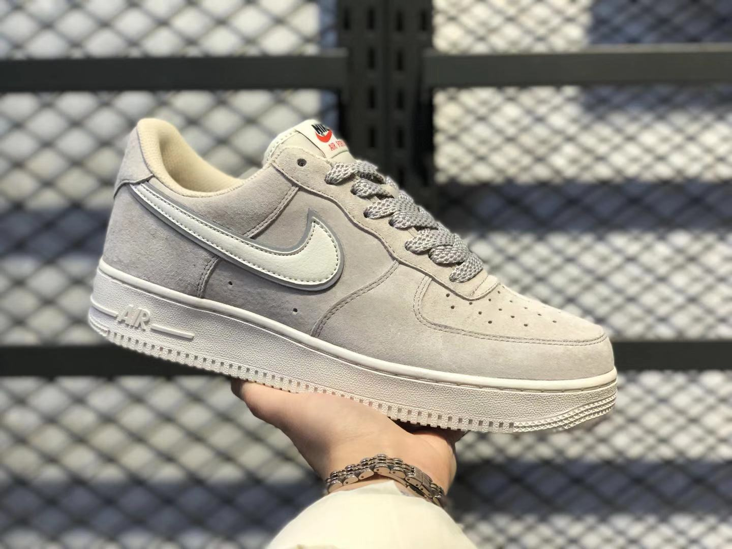 Nike Air Force 1'07 PRM Moon Particle/Sepia Stone Suede Shoes Online Buy