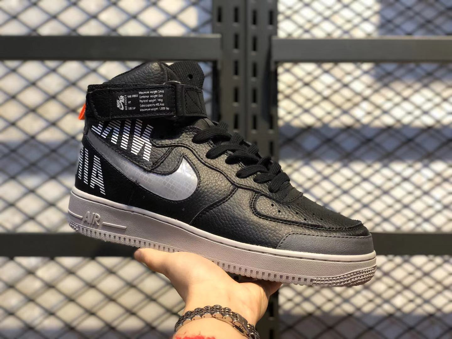 Nike Air Force 1 High Cool Grey/Wolf Grey-Pure Platinum CQ0449-001 For Sale