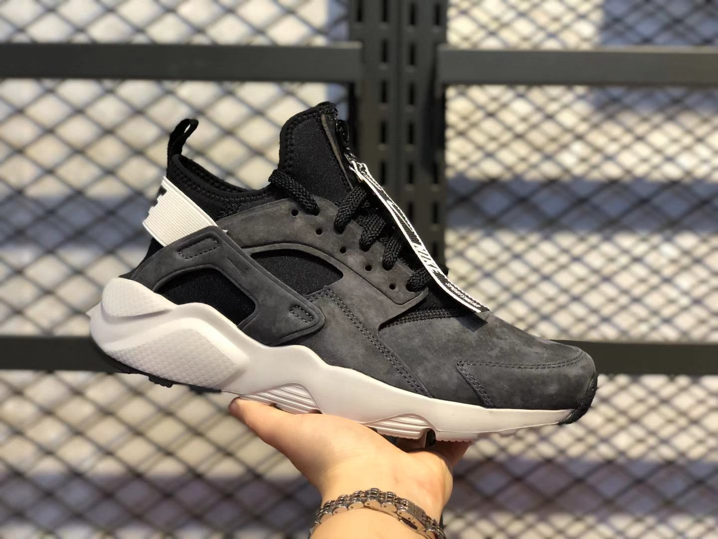 Nike Air Huarache Run Ultra Dark Grey/Core Black-White 829669-558 In Stock