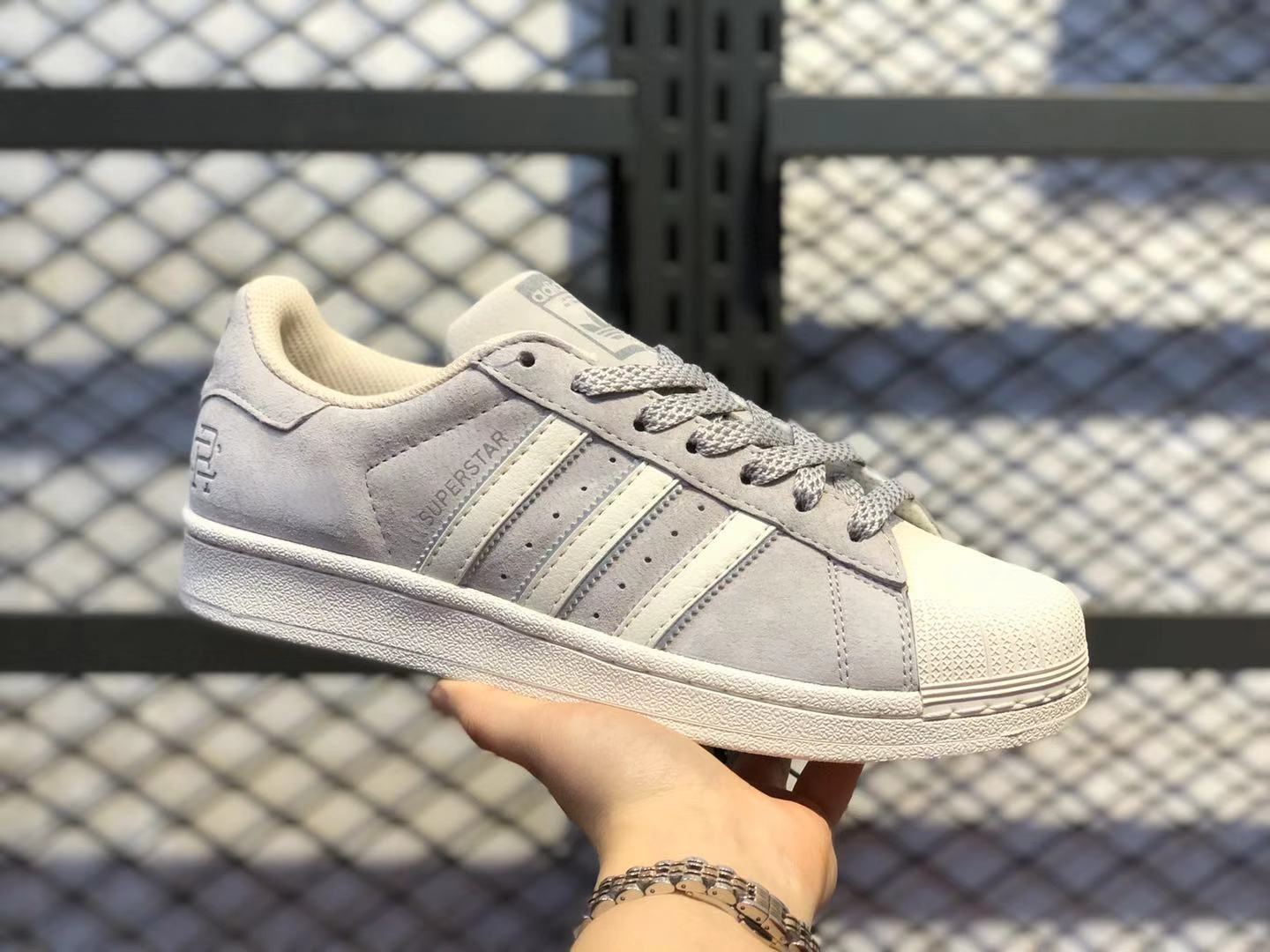 Reigning Champ x Adidas Superstar Grey/Light Bone BS0911 Life Classic Shoes