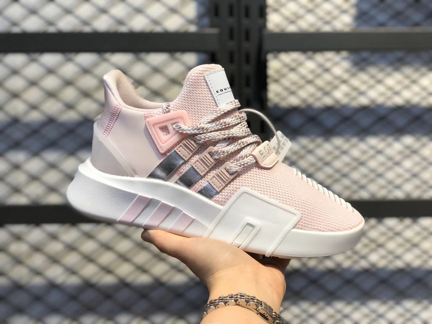 Adidas WMNS EQT Bask ADV Light Pink/White Gold-Metallic Online Buy EE5036