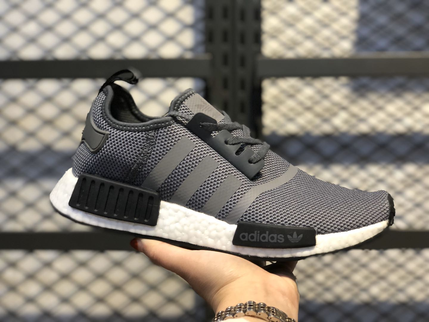 2020 Adidas NMD R1 Core Black/Core Black-Grey Four F36801 For Buy