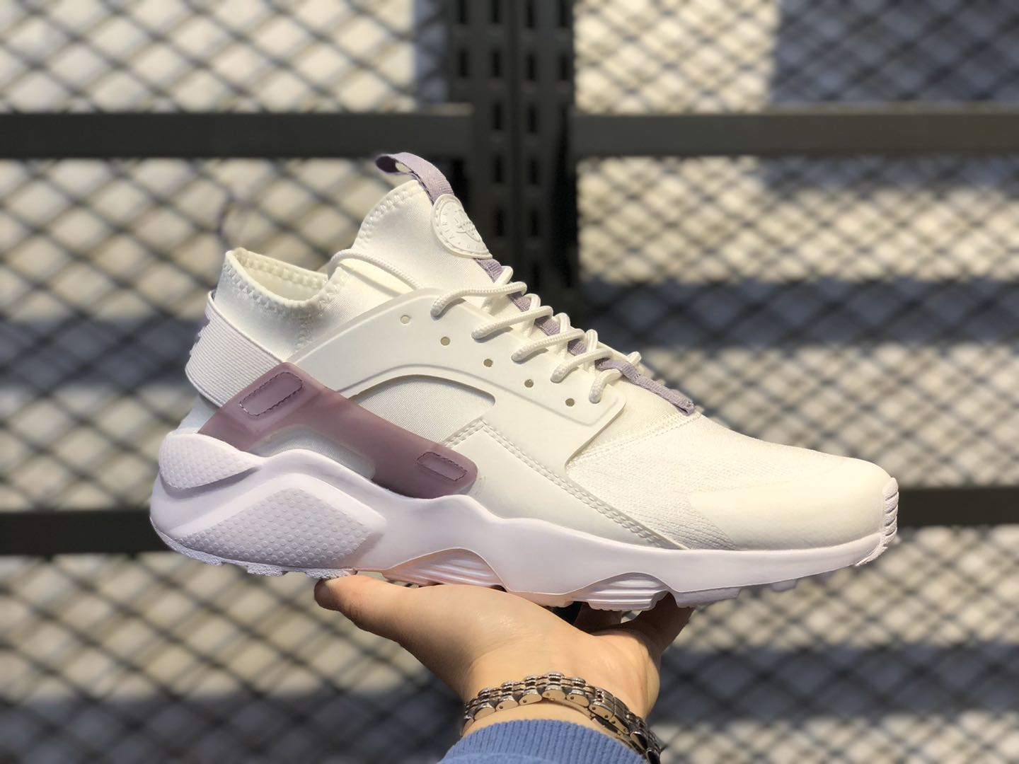 2020 Nike Air Huarache Run Ultra White/Light Purple 847569-997