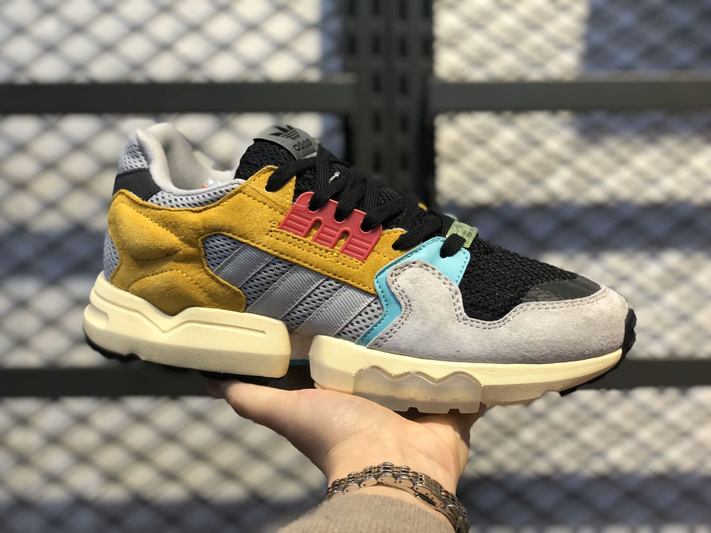 Adidas ZX Torsion Earth Yellow/Core Black-Wolf Grey EE4776
