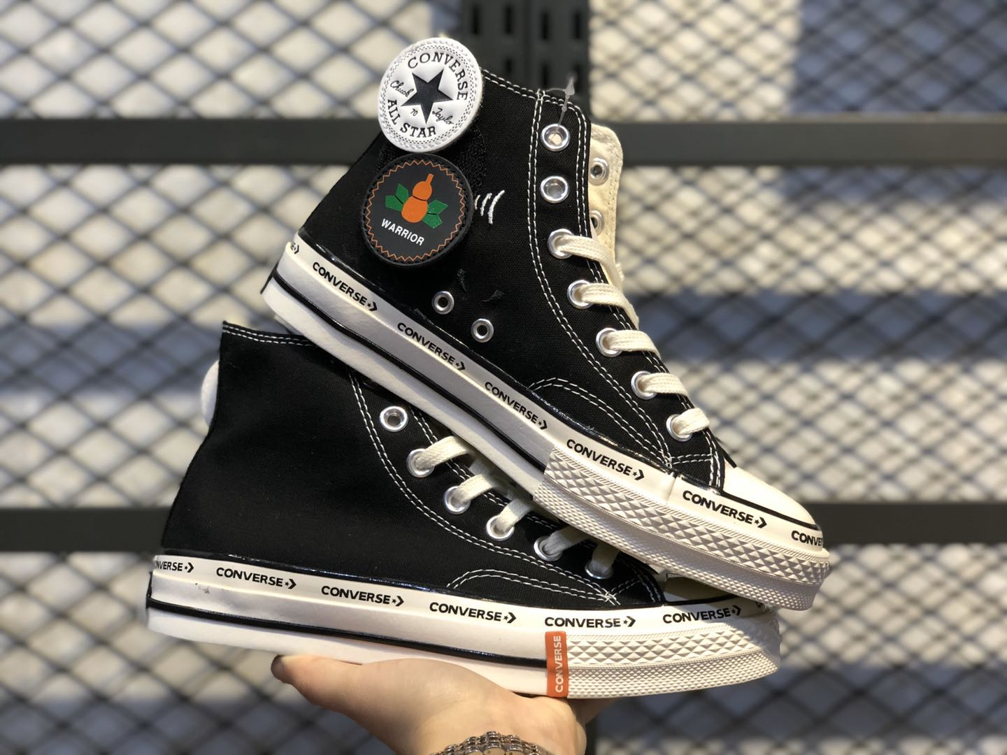 Converse Chuck Taylor All-Star 70s Hi Black/White Online Buy