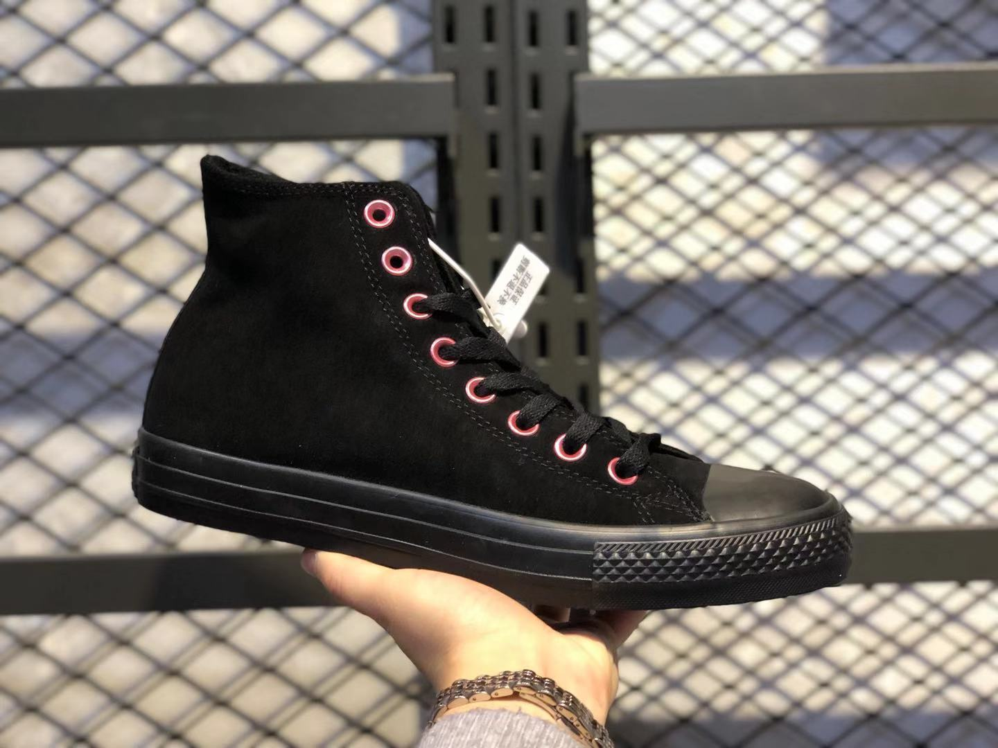 Converse Chunk Taylor All Star Core Black/Pink For Online Sale