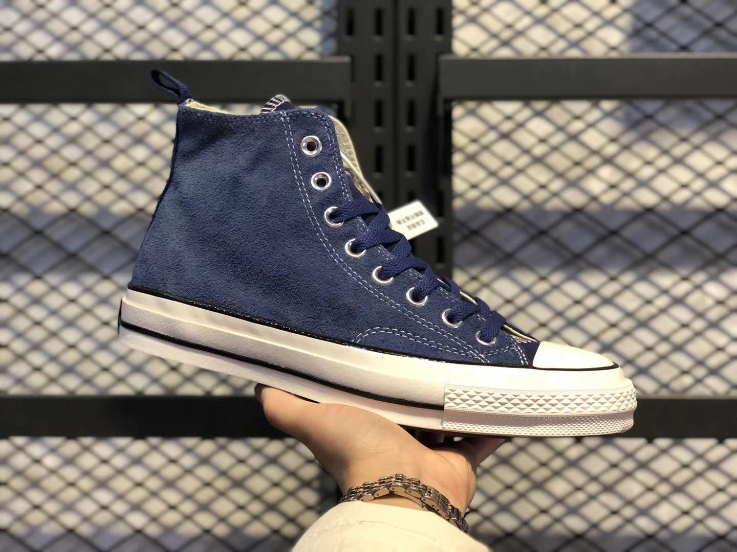 Converse x Madness 3.0 Blue Hairy Suede And Canvas Hot Sale