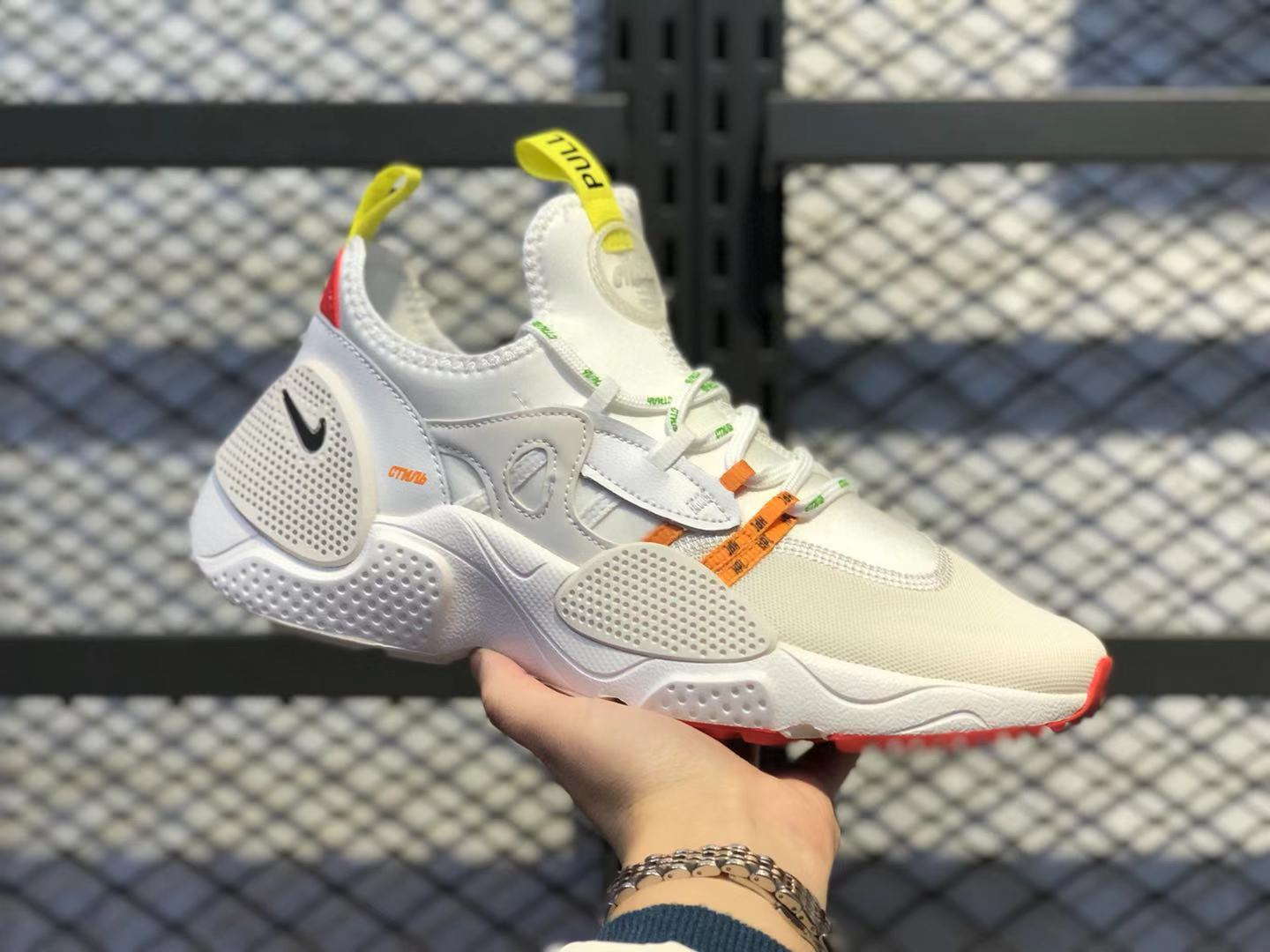 Heron Preston x Nike Air Huarache E.D.G.E.Sail/Summit White-Phantom CD5779-100