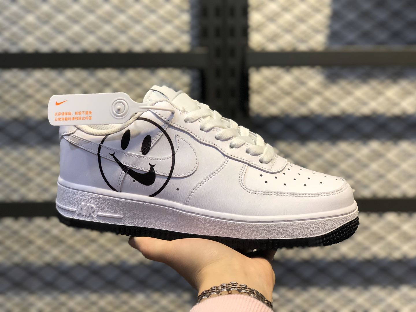 Nike Air Force 1 Low GS Have a Nike Day White/Black AV0742-100