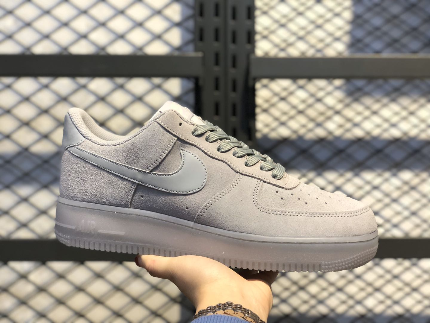 Nike Air Force 1 Low Wolf Grey/Wolf Grey For Sale BQ4329-001