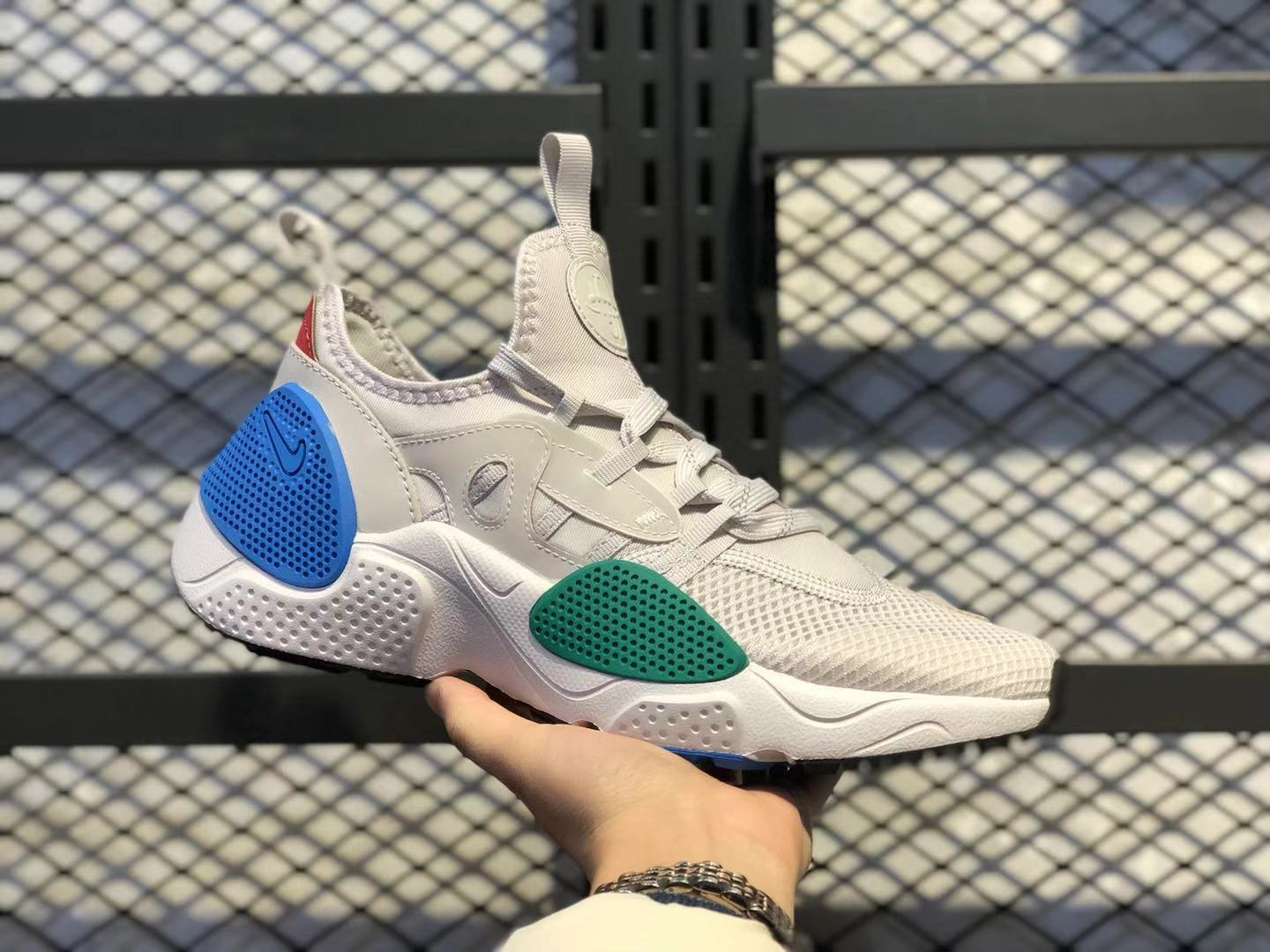 Nike Air Huarache E.D.G.E.Vast Grey/Tour Yellow-Neptune Green-Photo Blue AT4025-002