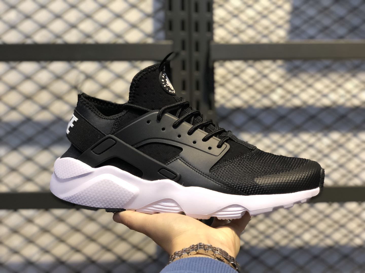 Nike Air Huarache Run Ultra Black White Hot Selling 819685-01