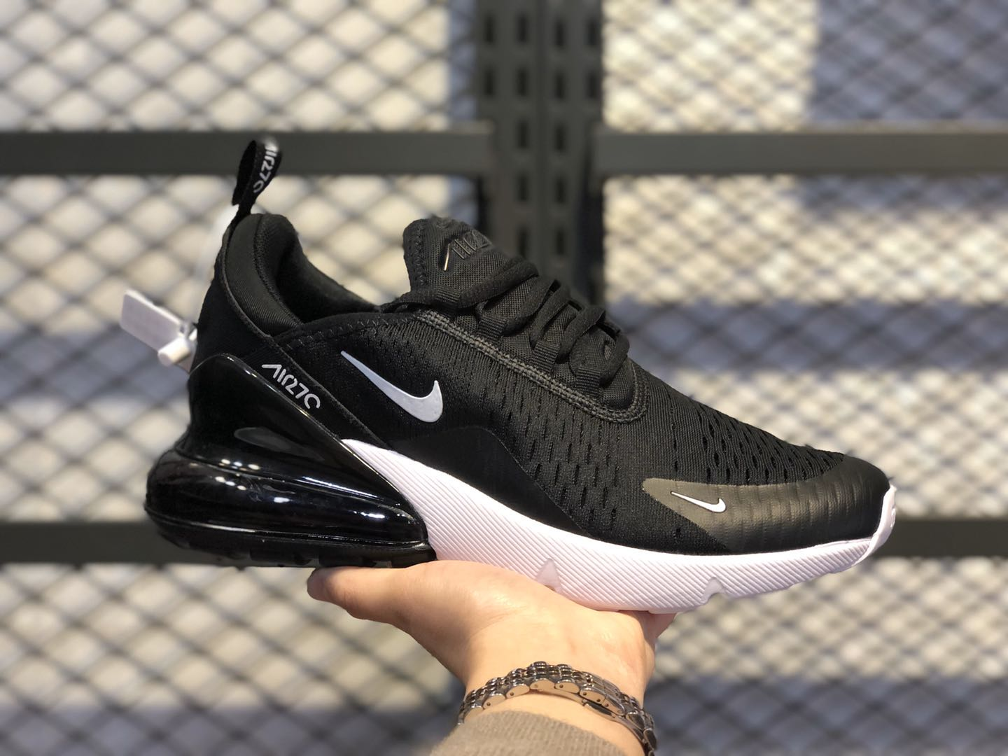 Nike Air Max 270 Black/White Running Shoes For Buy AH8050-002