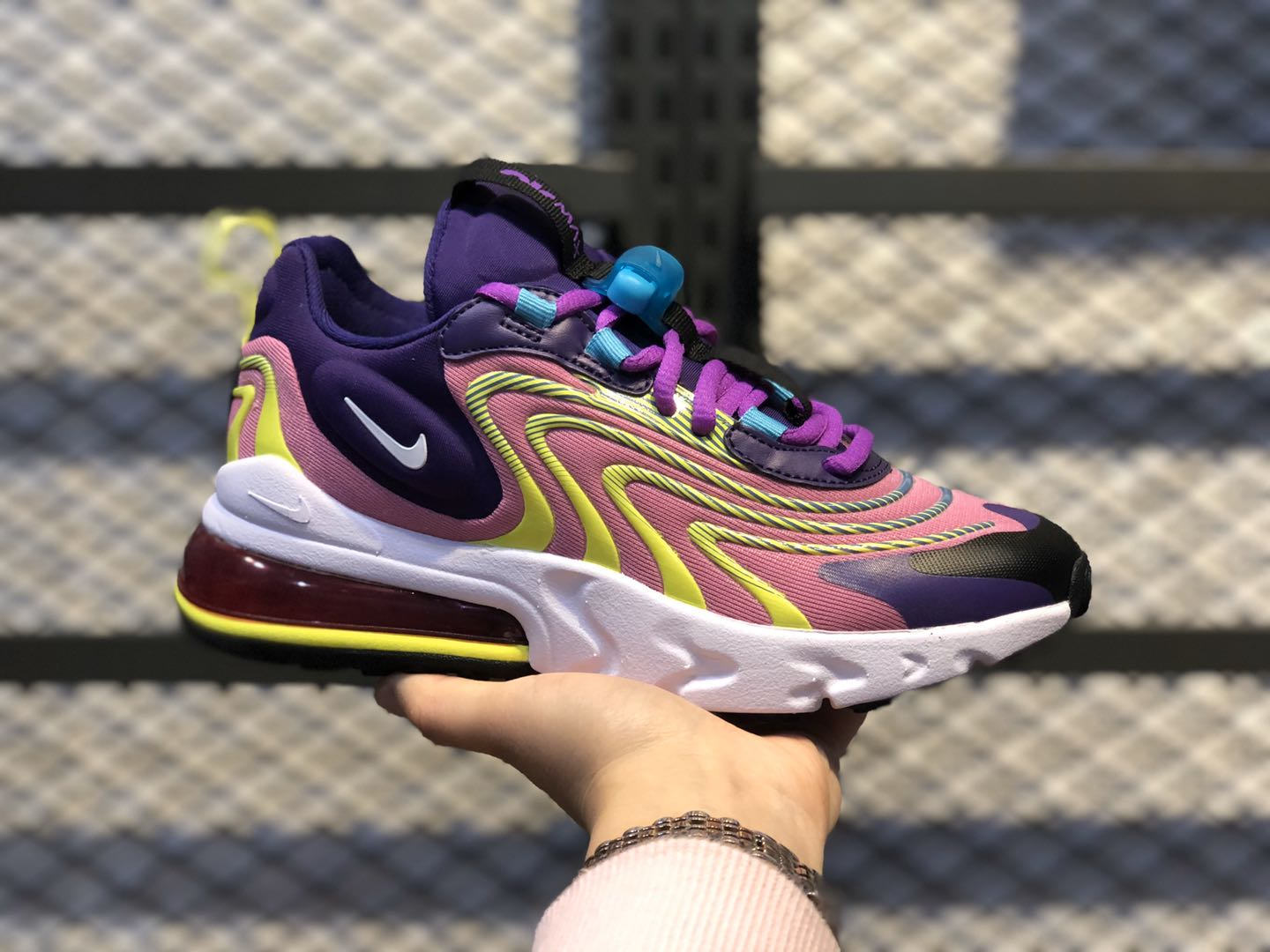 Nike Air Max 270 ENG Eggplant/White/Magic Flamingo CK2595-500
