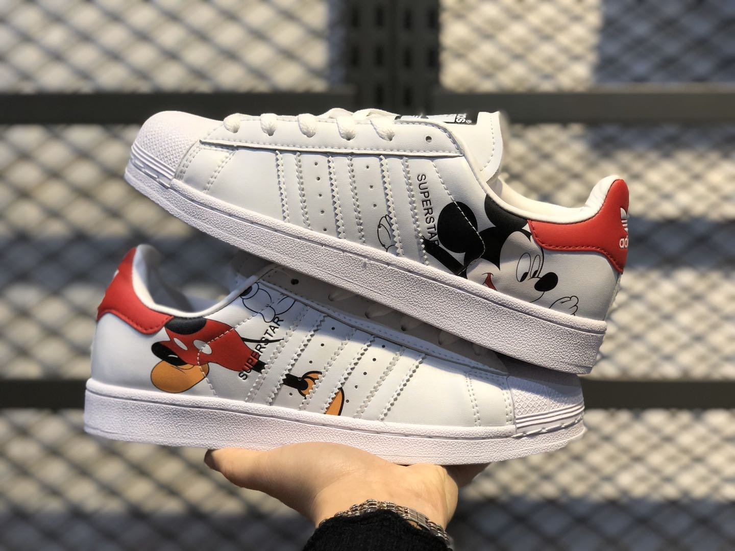 2020 Mickey Mouse x adidas Superstar Cloud White Hot Sale FW2901