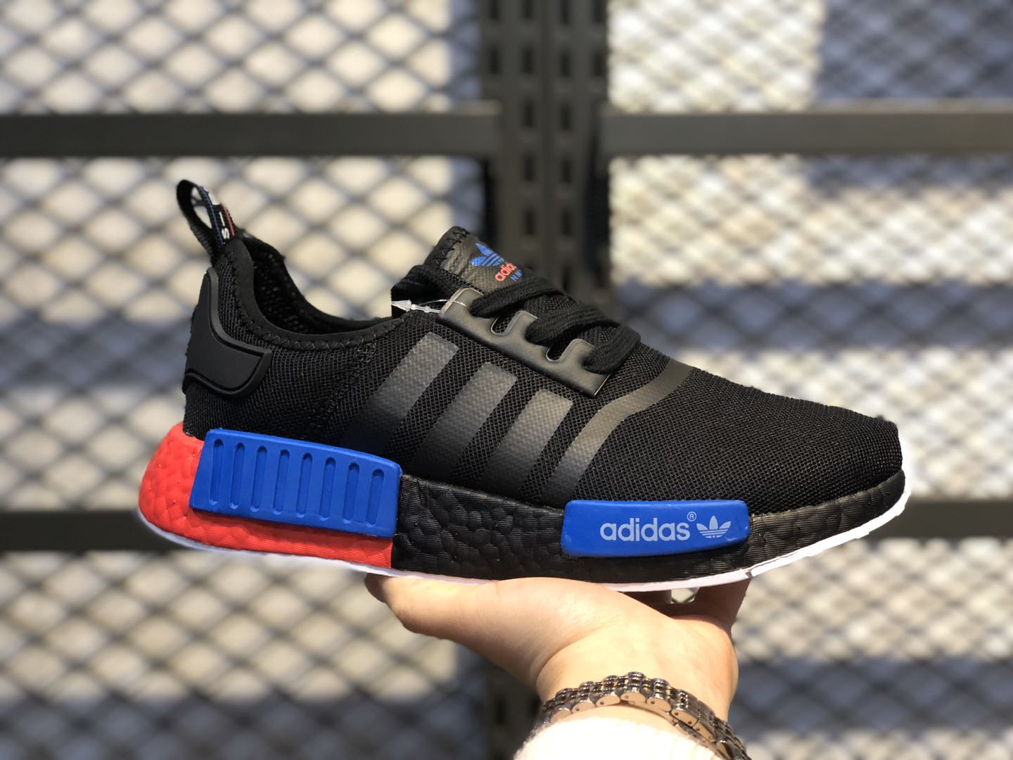 Adidas NMD R1 Core Black/Core Black/Lush Red On Sale FX4353