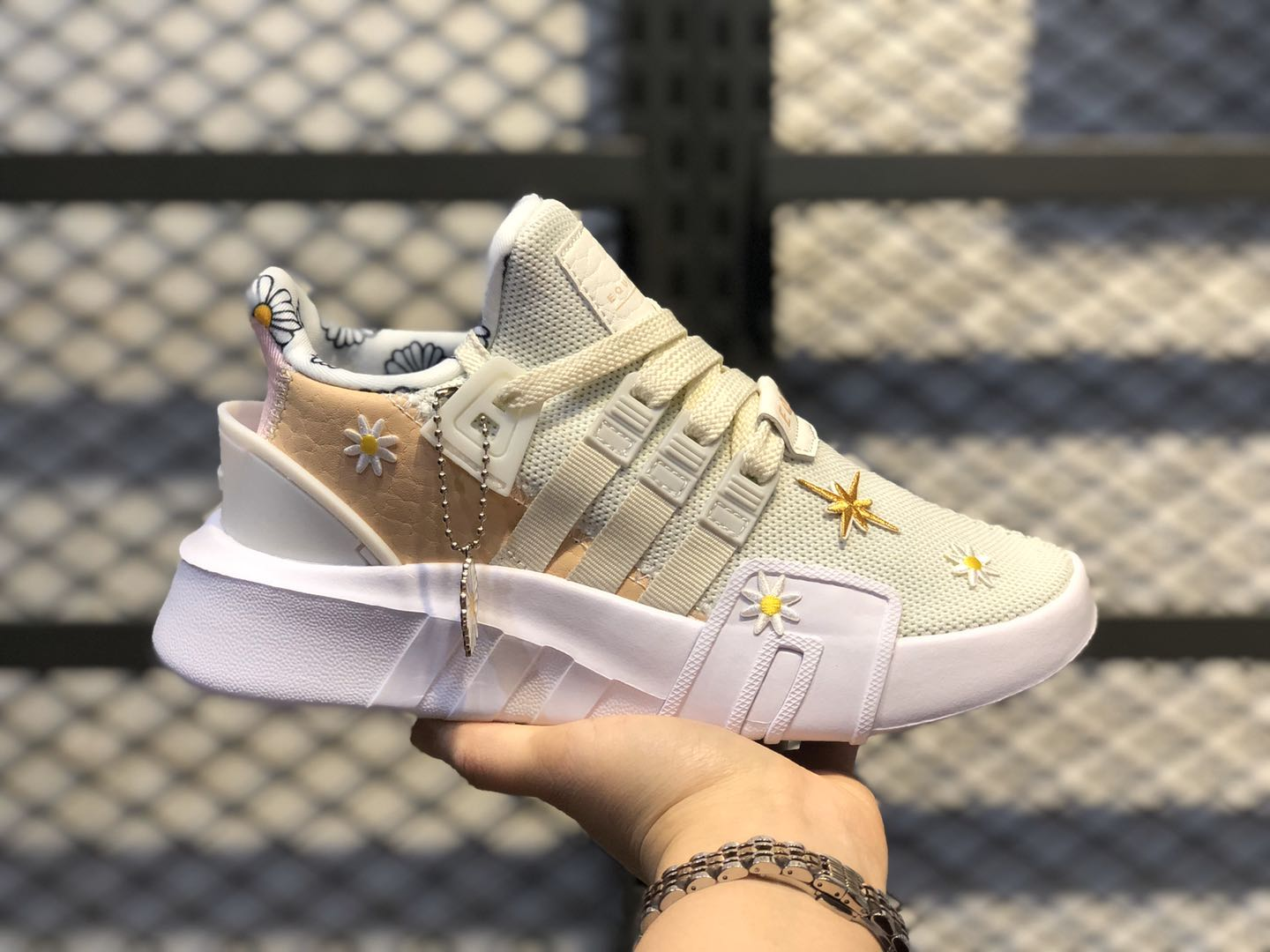 "Adidas Wmns EQT Bask ADV ""Small Daisies"" For Online Sale FU4818"