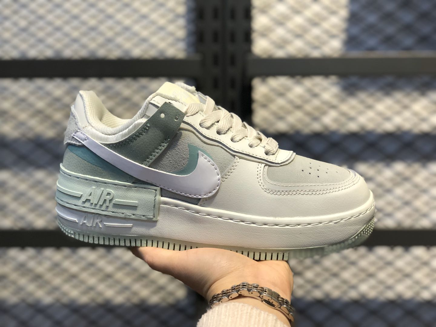 Nike Air Force 1 Shadow Spruce Aura/White-Pistachio-Frost CW2655-001