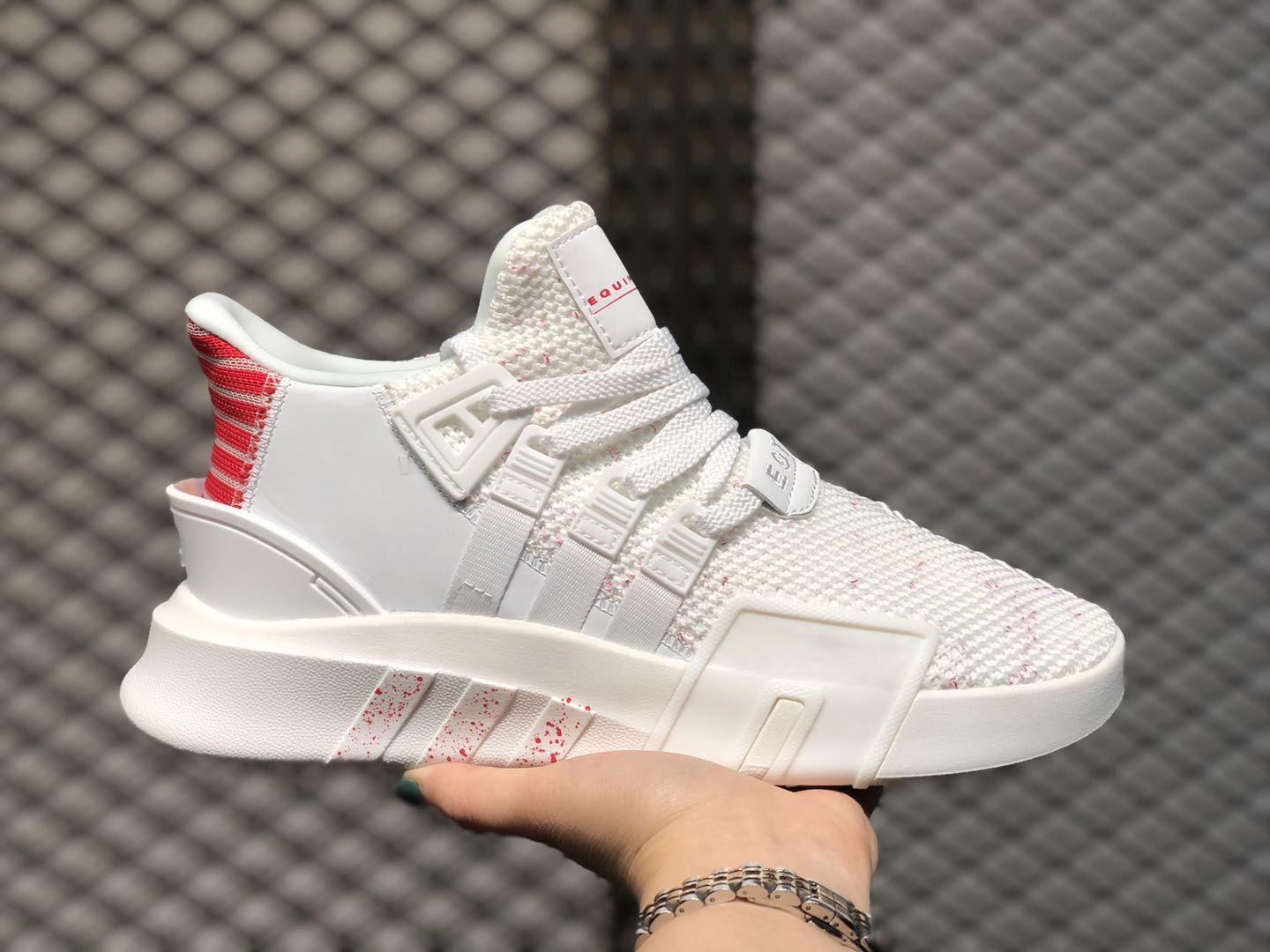 2020 Adidas EQT Bask ADV Cloud White/Hi-Res Red EE5042 For Buy