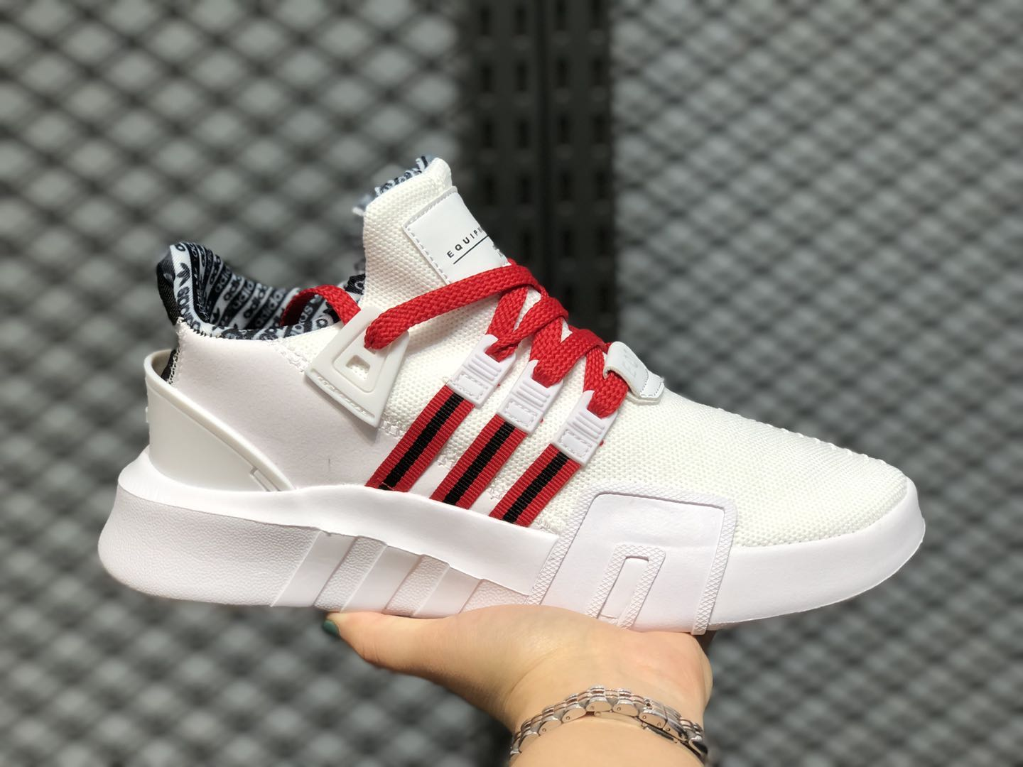 Adidas EQT Bask ADV Cloud White/University Red-Black EE0918 Cheap Price