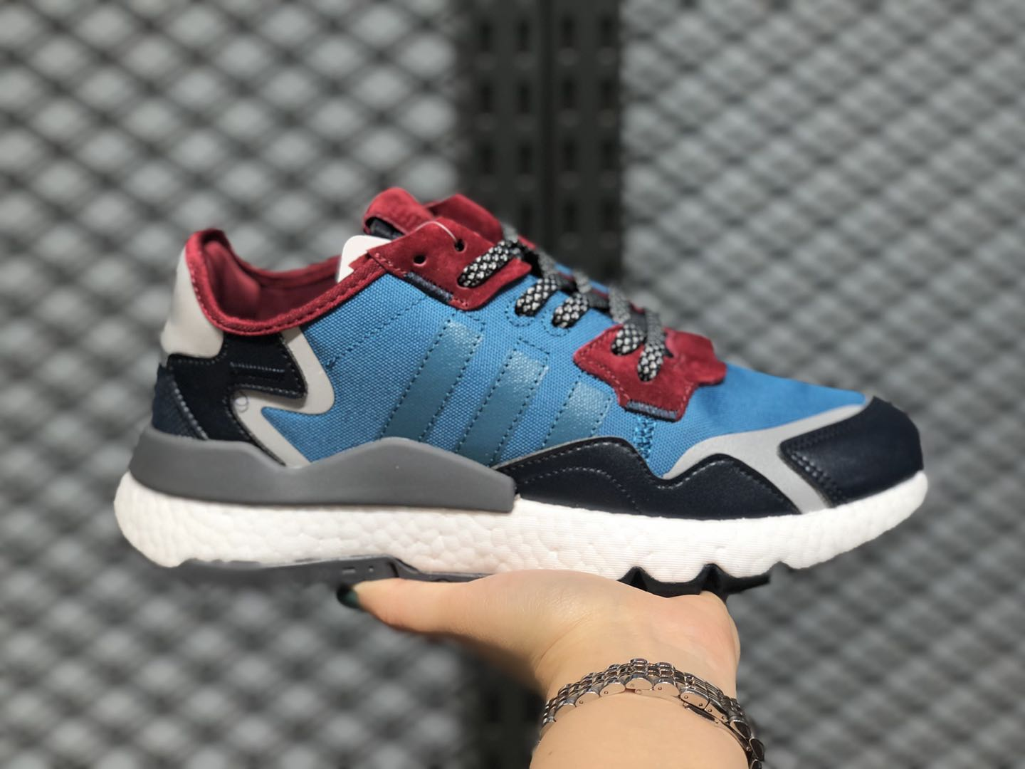 Adidas Nite Jogger Boost Tech Mineral/Color Navy EE5872 Online Buy